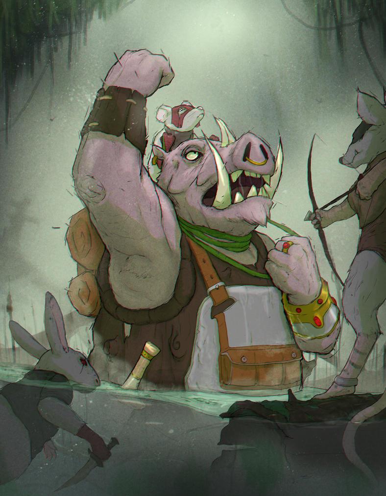 Swamp Thieves by GuxD