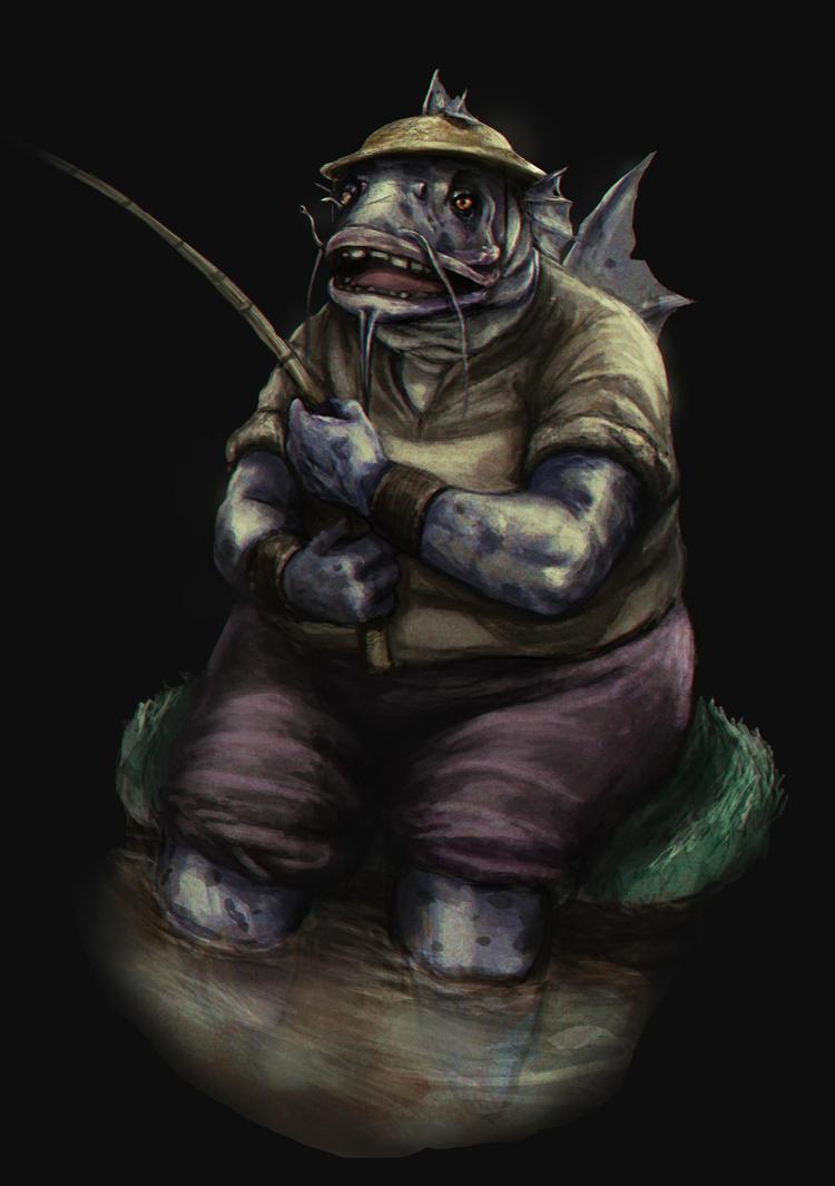 Peixe Pescador by GuxD