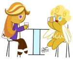 Coffee Cookie,Angel Cookie