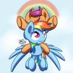Scootaloo,Rainbow Dash