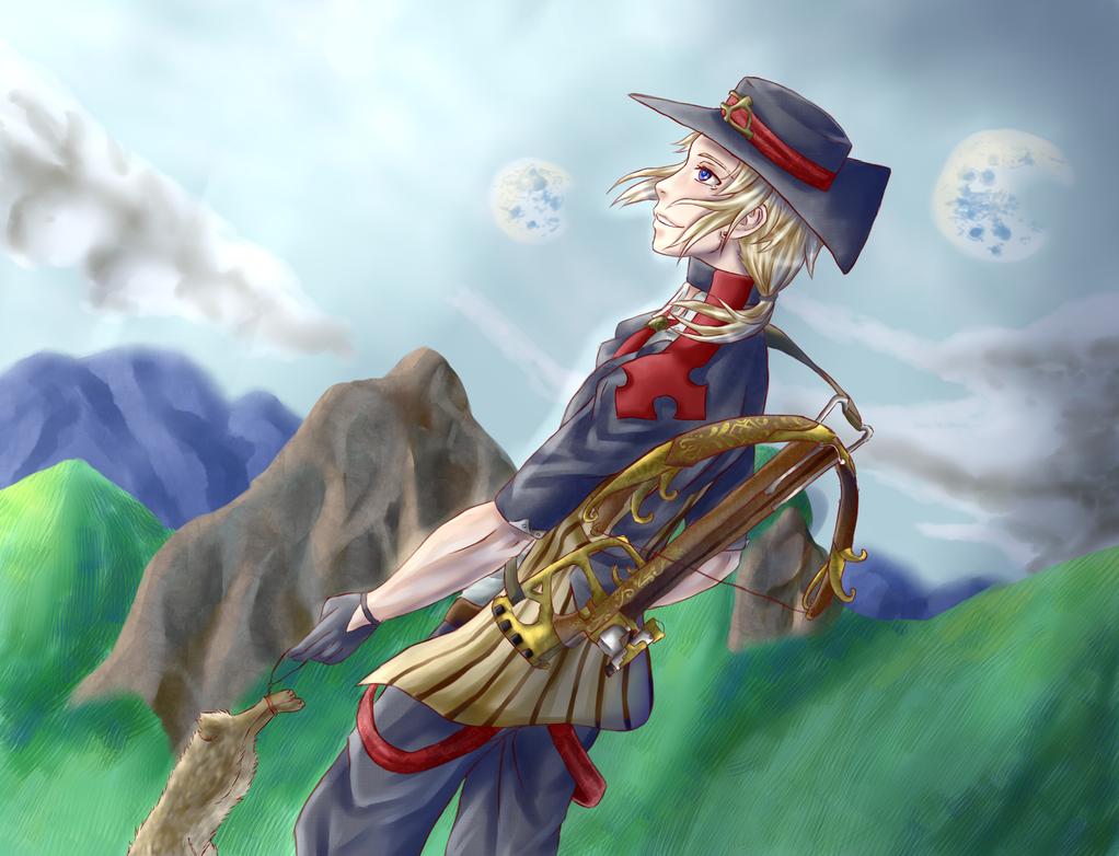 The Solemn Hunter by DoronaTenshi