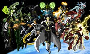 Ben 10 Commission-Justice League Aliens