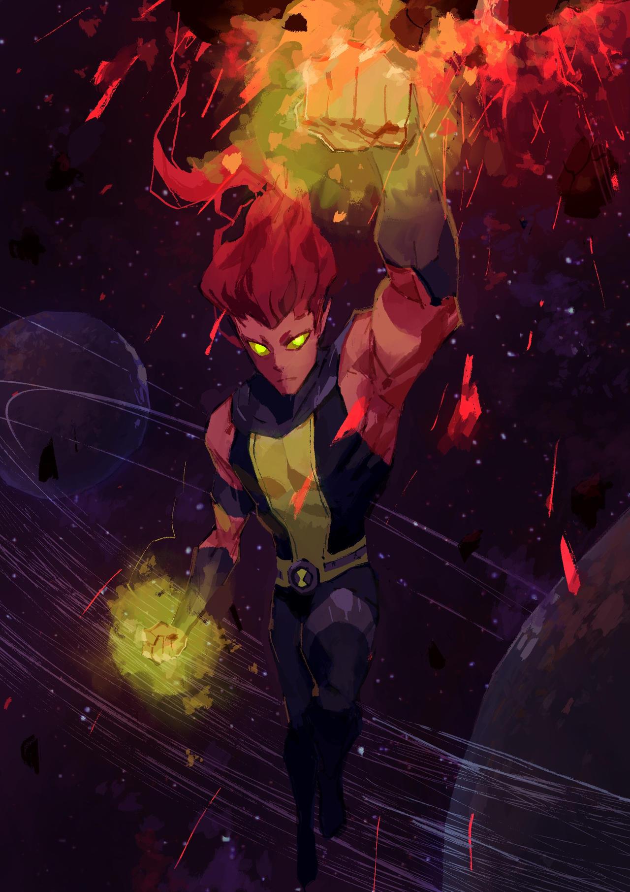 Ben 10 Artwork-Stellarfire (final version)