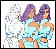 Lestaelle - Outfit 01 - WIP 03 by EvilPNMI