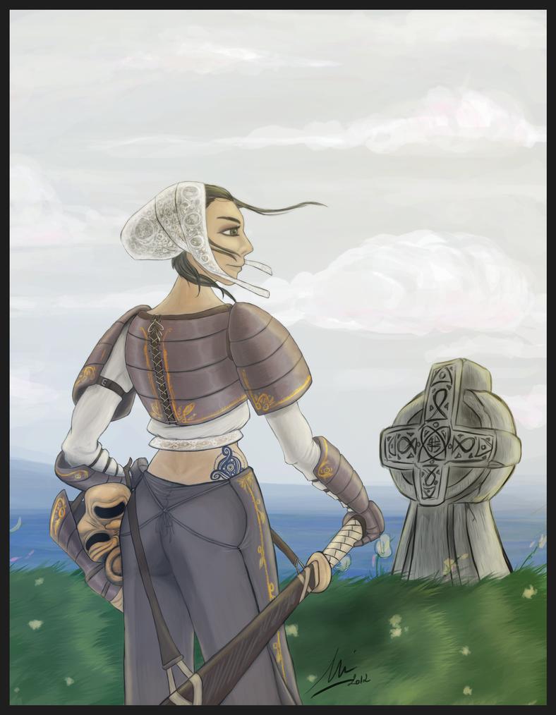 [EvilPNMI] Je reviens pas, parce que quand je le dis, ça foire. Mais je suis là. - Page 3 Samurai_brezhoneg_by_evilpnmi-d4swv6n