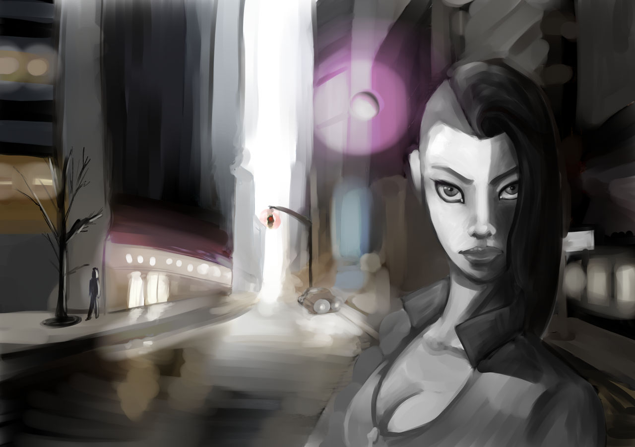 Young Lanaelle (WIP #02) by EvilPNMI