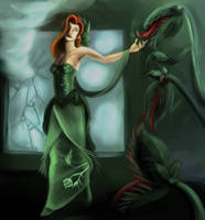 Poison Ivy - Fanart by EvilPNMI