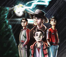 Back to the future fanart by EvilPNMI