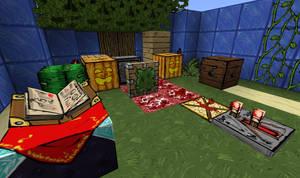 Minecraft - EvilPNMI's texture pack - WIP 02 by EvilPNMI