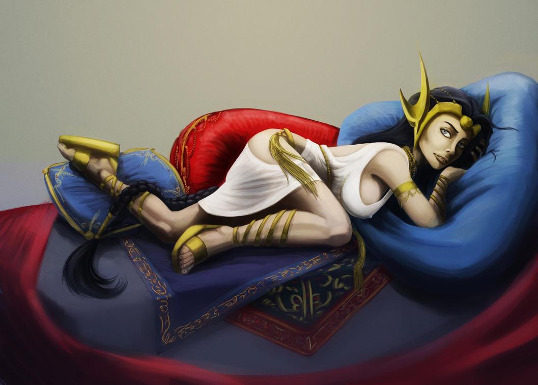 Dejah Thoris, princess of Mars - Weekly Trinquette by EvilPNMI