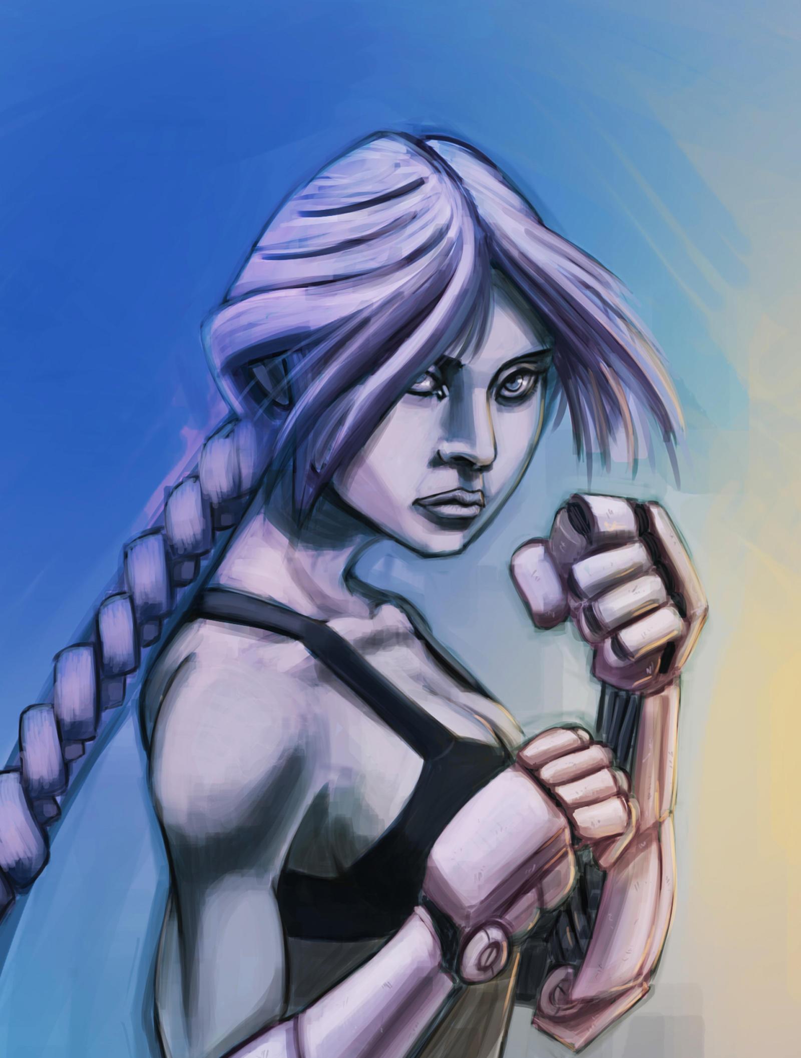 EvilPNMI Lanaelle___boxing_by_evilpnmi-d6kdlwk