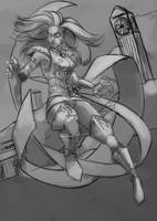 Shaina, Ophiucus - Saint Seiya fanart - WIP by EvilPNMI