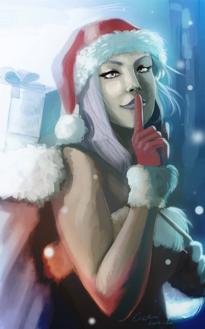 30 days of Lestaelle - Christmas special 2014 by EvilPNMI