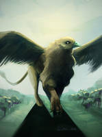 Giant Griffin by EvilPNMI