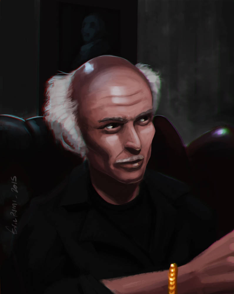 Lee van Cleef / Escape from NY by EvilPNMI