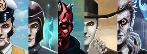 Commission - Dream's 5 portraits banner
