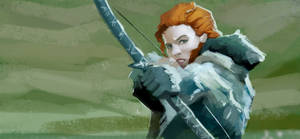Training - Quick Study : Ygritte by EvilPNMI