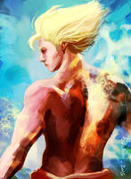 Fanart - Goku by EvilPNMI