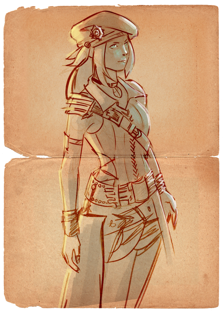Final Fantasy XIV - Mae Reed by EvilPNMI