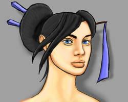 Tessa Allbreak - Portrait by EvilPNMI