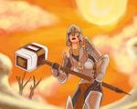 Selena - A warrior in Jahai