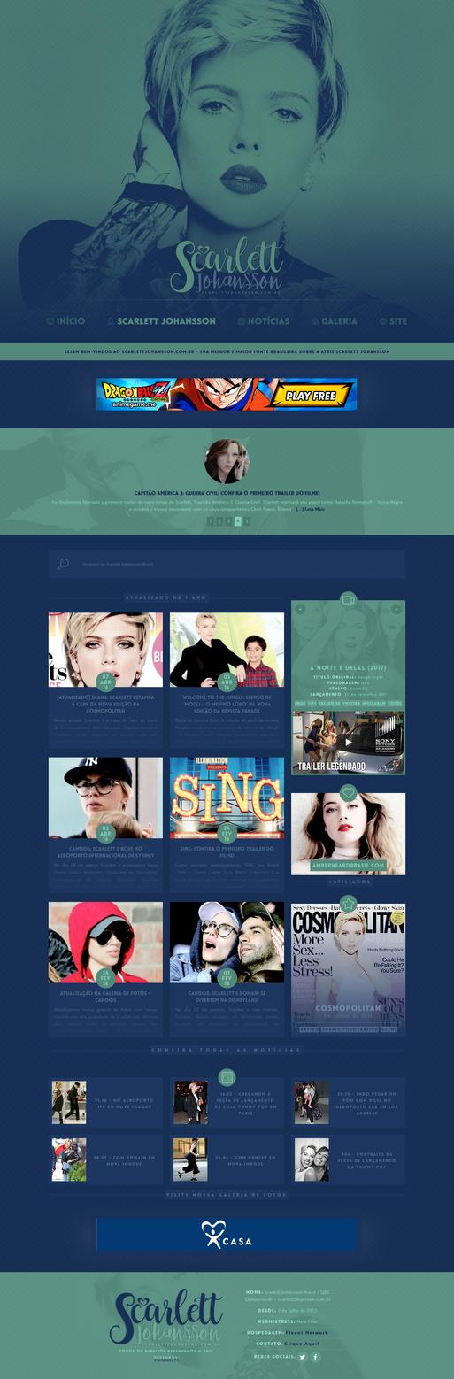 Scarlett Johansson Brasil - The 2nd Version by twnchest