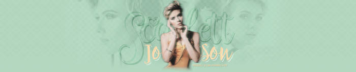Scarlett Johansson - Header #04 by twnchest