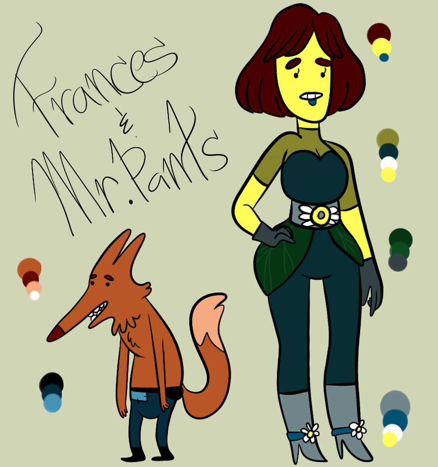Franny and Mr. Pants' Ref by Ask-Jazz