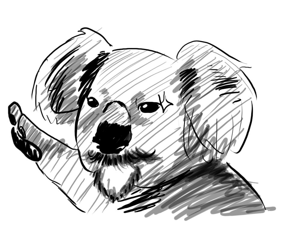 Hitler Koala by ADayIn