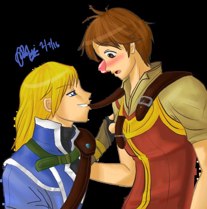 CryingRainnn's Friend Couple Art by ADayIn