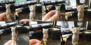 Pencil Pets - Kitty in progress