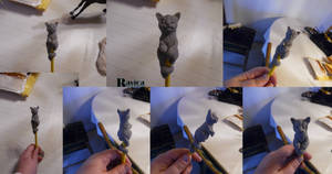 Pencil Pets - Kitten 01 original done by Ravica