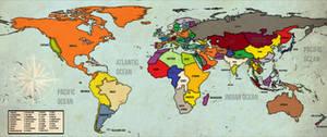 Alt-History Political Map (Version II)