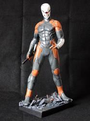 Grey Fox 1/6 - Metal Gear Solid by Bluudy