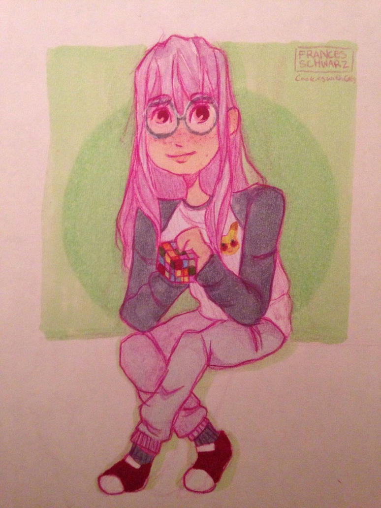 Mel (Melanie) - OC drawing by CookiesWithCats