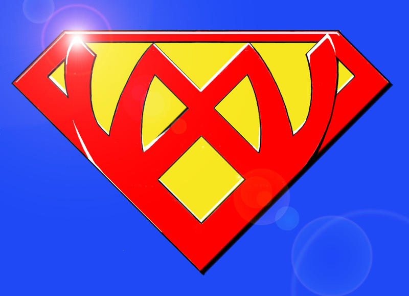 Superman inspired Logo by Evoleuna