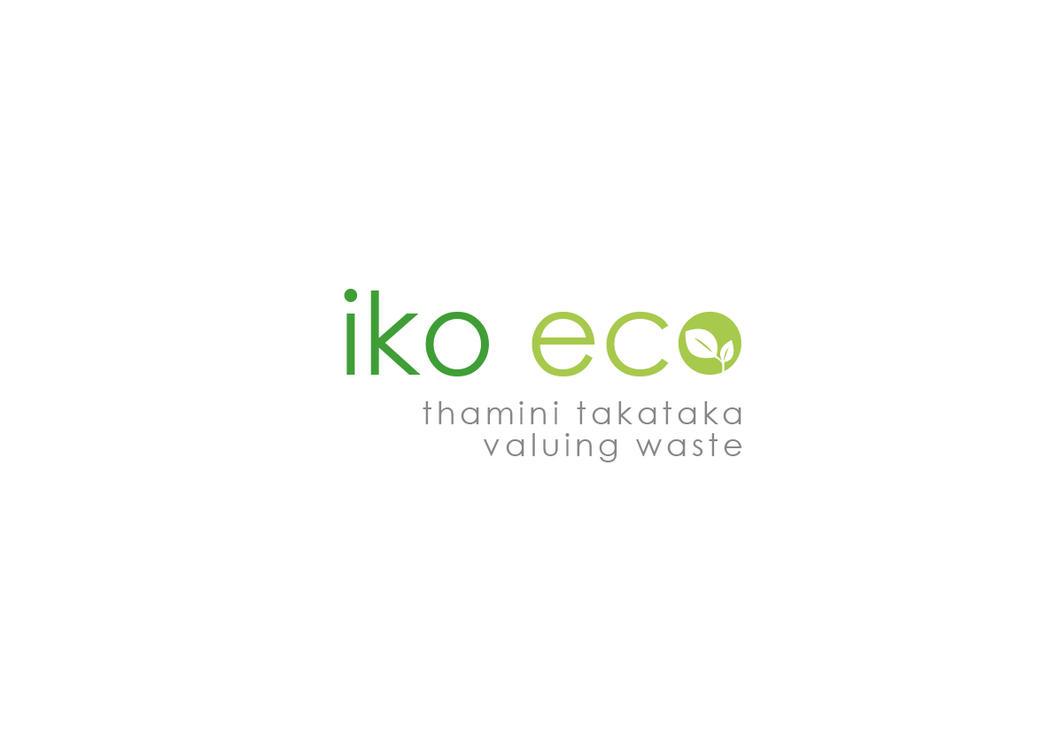 Iko Eco logo by DreamAboutStars