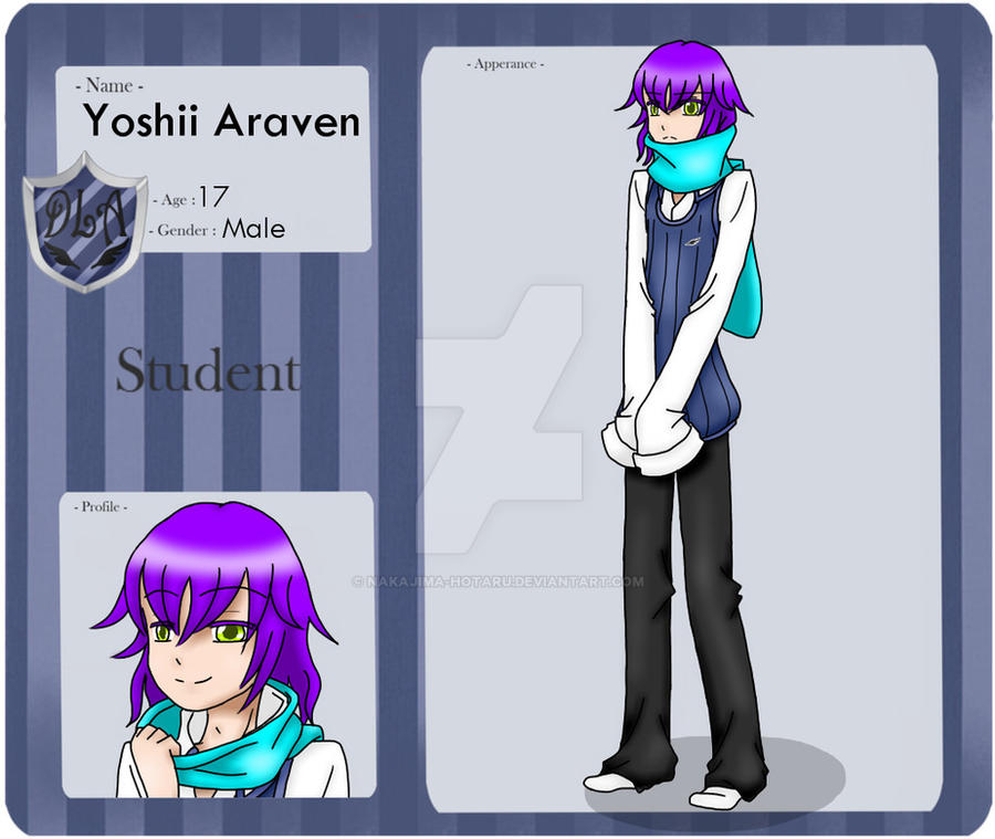 DLA - App: Yoshii Araven by Nakajima-Hotaru