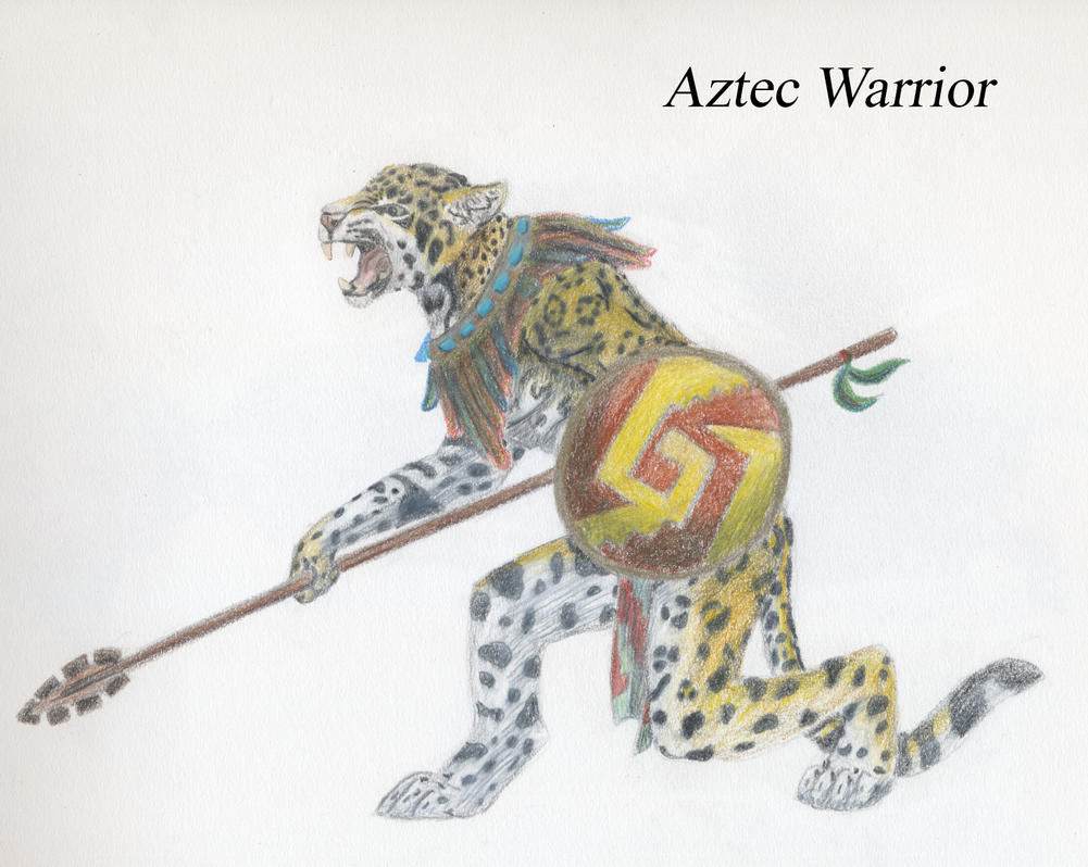 aztec jaguar warrior images
