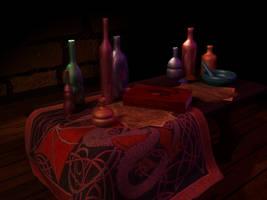 Alchemist Work table II by xxAlexaBlack