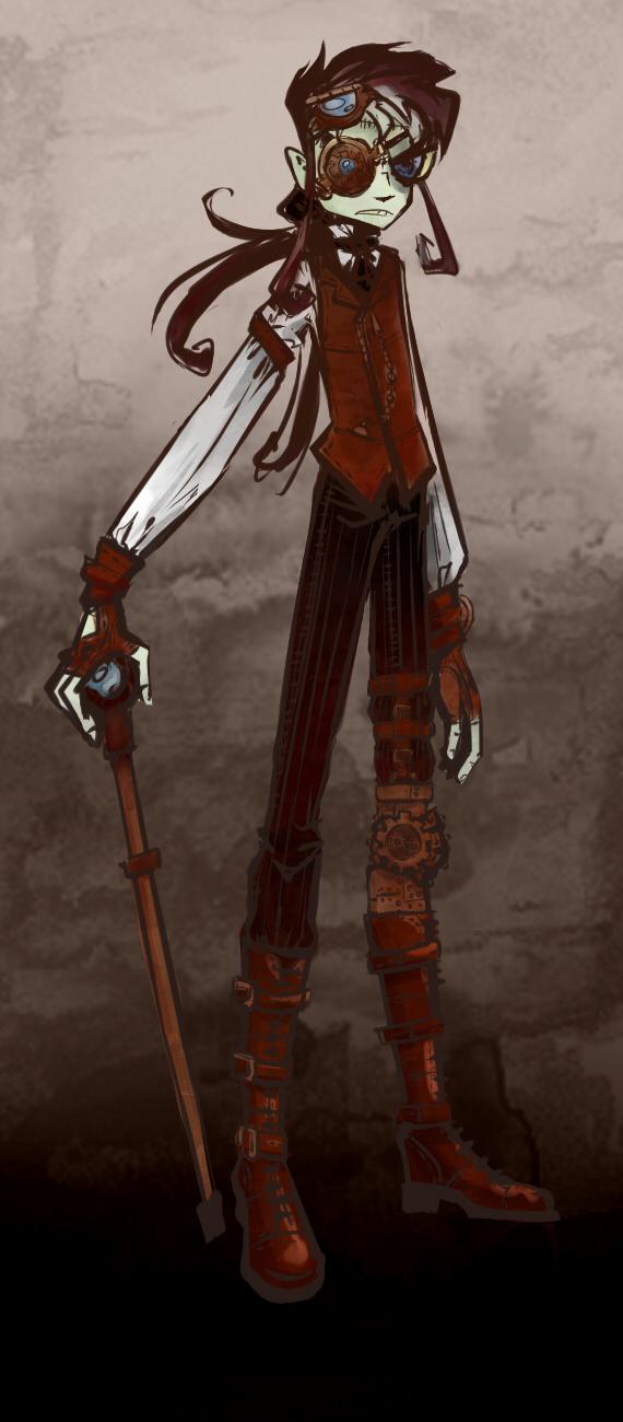 steampunk maz by m-z-k