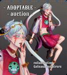 [OPEN] Adoptable Auction 'Sesile' by Galinasa