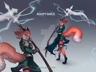 [OPEN] Adopt Auction War fox  [CLOSED]