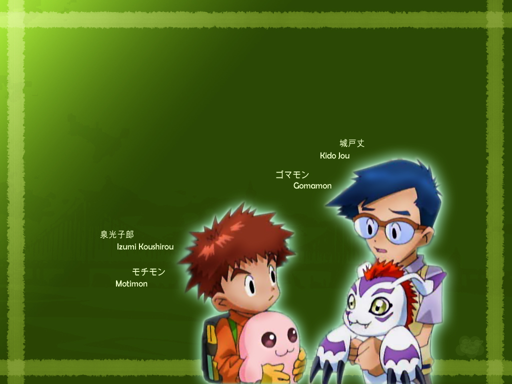 Koushirou, Jou Wallpaper by c-sacred