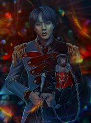 BTS JIN [circus Antre] by dannywornop43