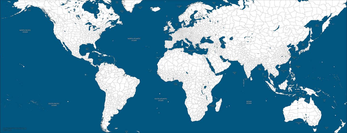 Victoria 2 Blank World Map By Mapsnstuff On Deviantart