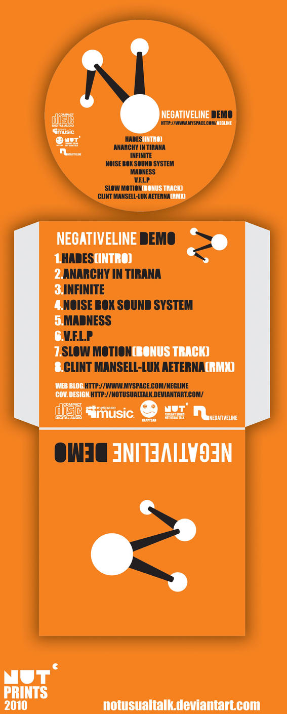 Negativeline demo album by notusualtalk