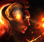 Lady Aries: This girl is on fire!