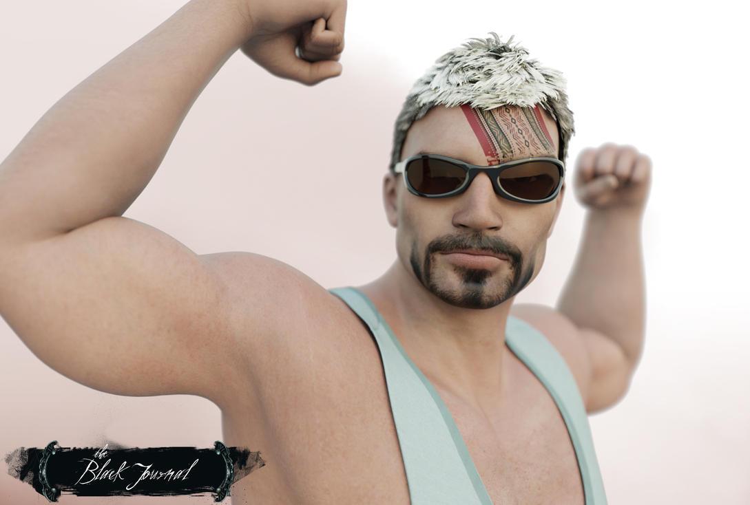 My Macho Man Boris by arty-monster