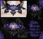 Gothic Burlesque choker v2